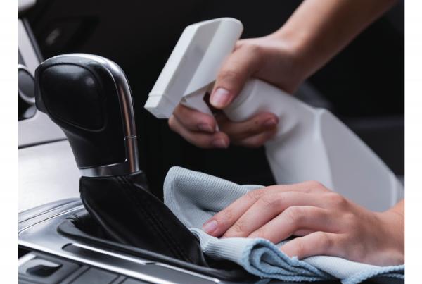 oferta da lavagem e higienização da viatura